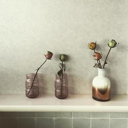 手軽にセンス良く。花やグリーンの素敵な飾り方