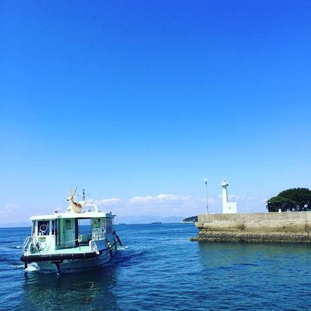 """キッズと行きたいプチ島旅。渡船で3分の""""鹿島""""へ"""