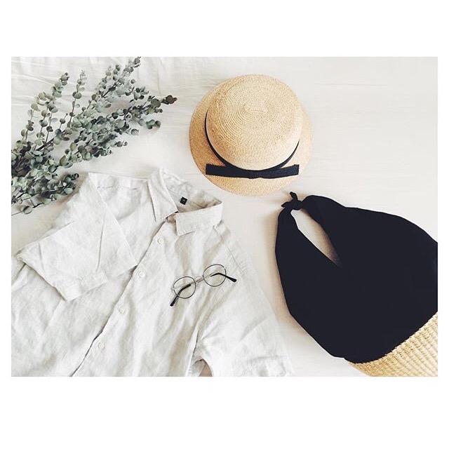 涼やかリネンで楽しむ夏ファッション