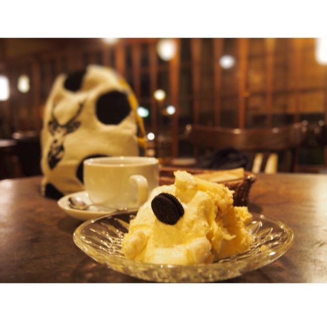 秋の夜長_夜カフェ