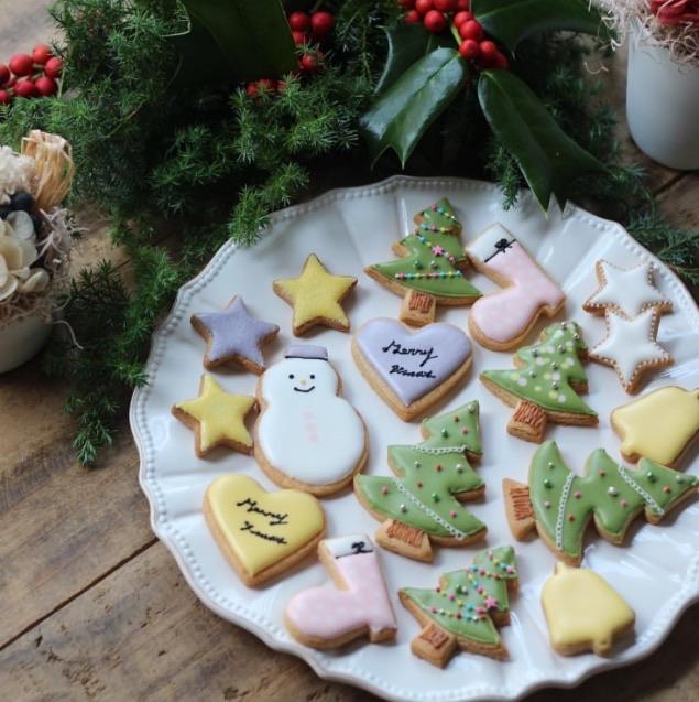 アイシングクッキー_クリスマスおやつ