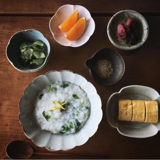 ぬくもり感じる和食器を使ったテーブルコーディネート