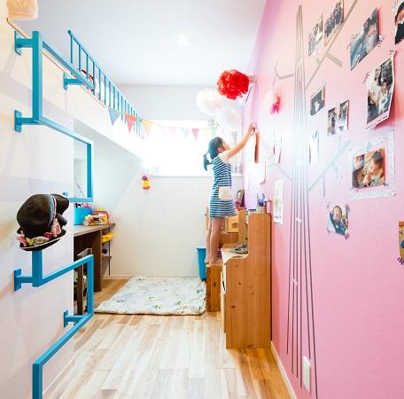 子ども部屋もとびきりオシャレに!子ども部屋の実例をピックアップ