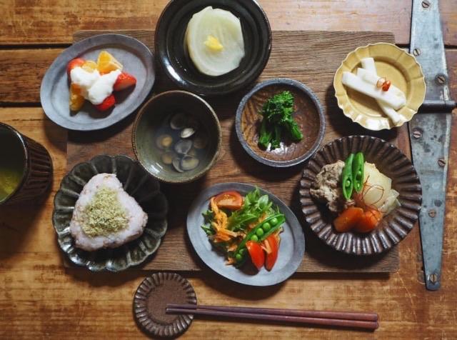 豆皿テーブルフォト2